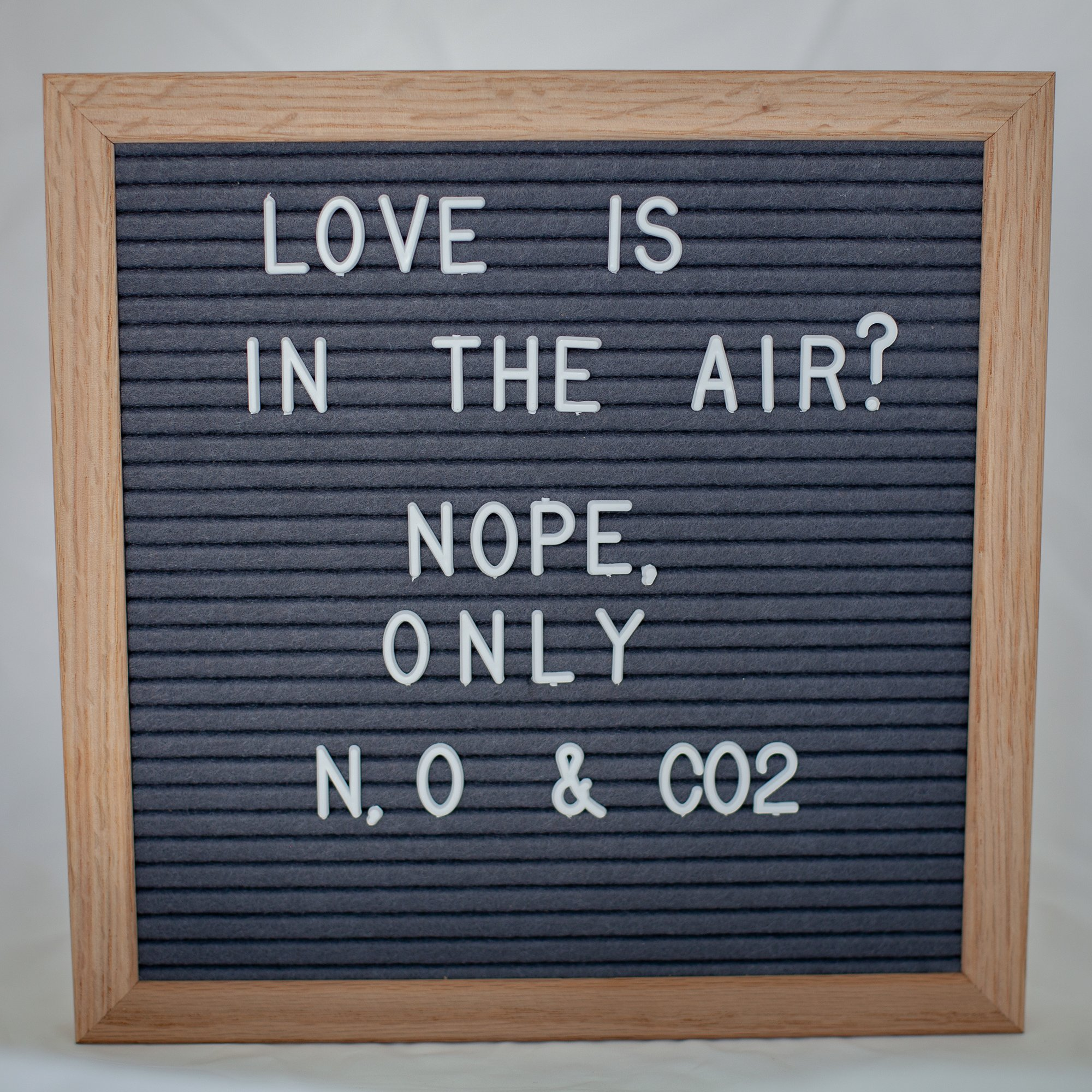 10x10 Inch Gray Felt Letter Board - Plentiful 680 Changeable White Letters to Cover Multiple Usage Scenarios - Durable Oak Frame by DraiviMedia (Image #1)