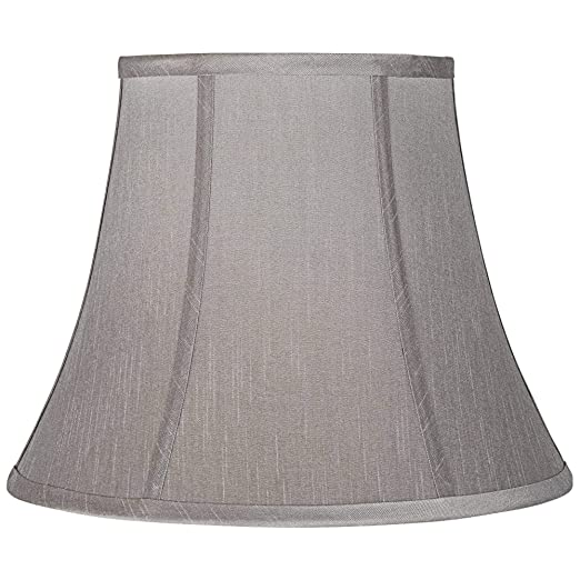 Amazon.com: Pewter Gray Bell lámpara de techo 8 x 14 x 11 ...