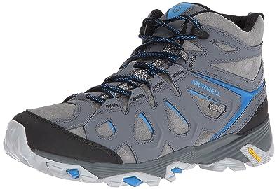 Merrell Men's Moab Fst Ltr Mid Waterproof Hiking Boot, Turbulence, ...