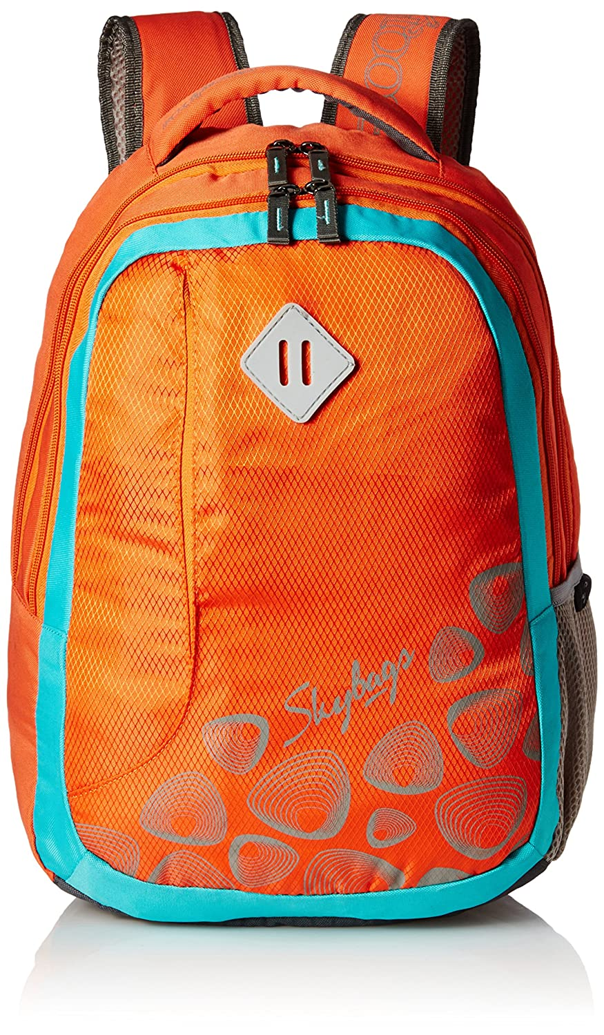 Skybags Leo 26 Ltrs Orange Casual Backpack (BPLEO2ONG)