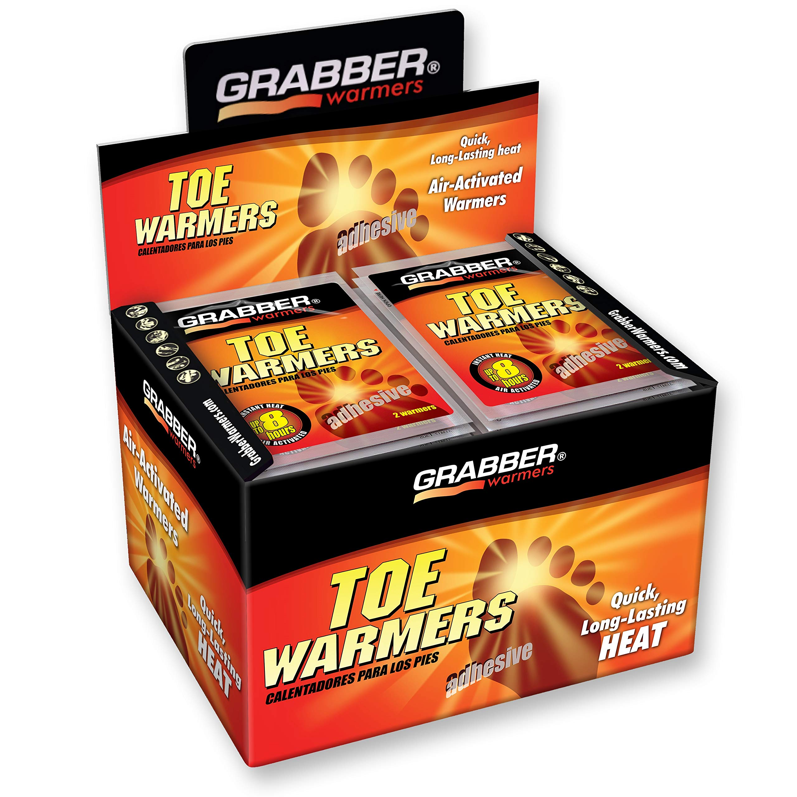 Grabber Toe Warmers, 40 pairs by Grabber