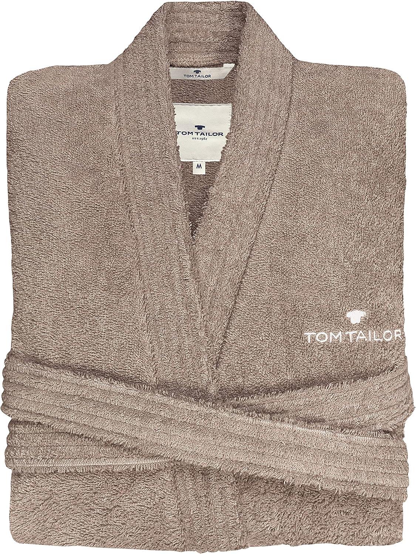 Cotton TOM TAILOR 0100300 Peignoir de Bain Kimono L Sand