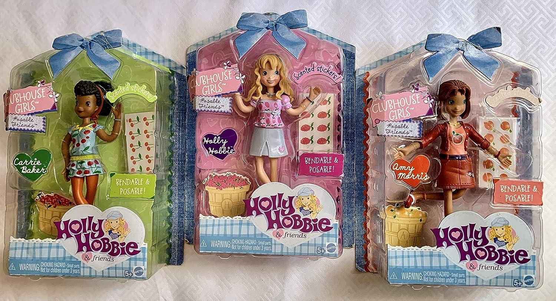 Amazon.com: Holly Hobbie Clubhouse las niñas Posable Amigos ...