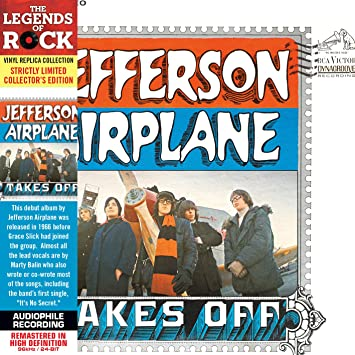 Takes Off - Cardboard Sleeve - High-Definition CD Deluxe Vinyl Replica