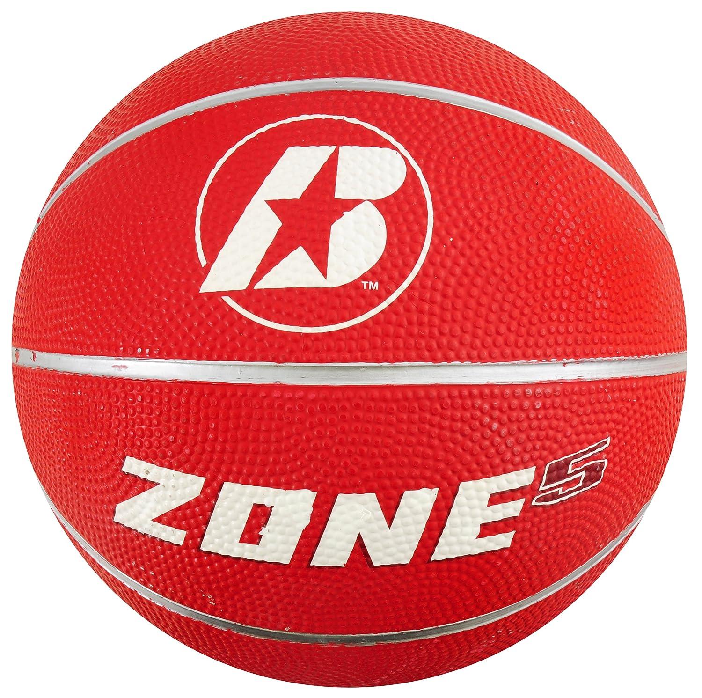 Baden Sports Baden Zone balón de baloncesto, color rojo, tamaño 5 ...