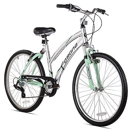 Amazon Com Northwoods Pomona Womens Dual Suspension Comfort Bike