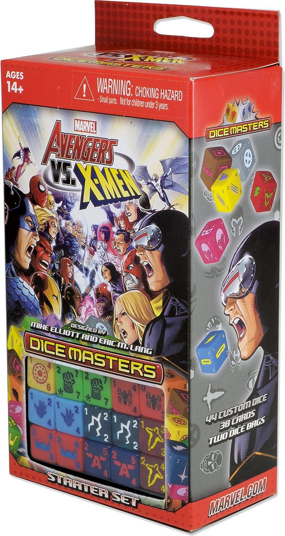 Asmodee – wk72143 – Marvel Dice Masters 1 – Starter Avengers Vs x-Men: Amazon.es: Juguetes y juegos