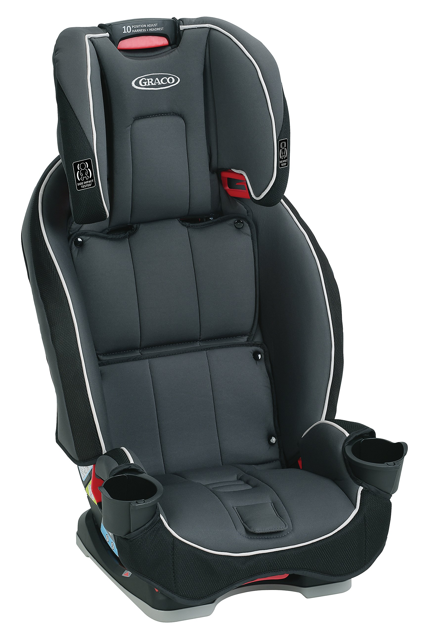 Graco SlimFit 3-in-1 Convertible Car Seat, Darcie by Graco (Image #4)