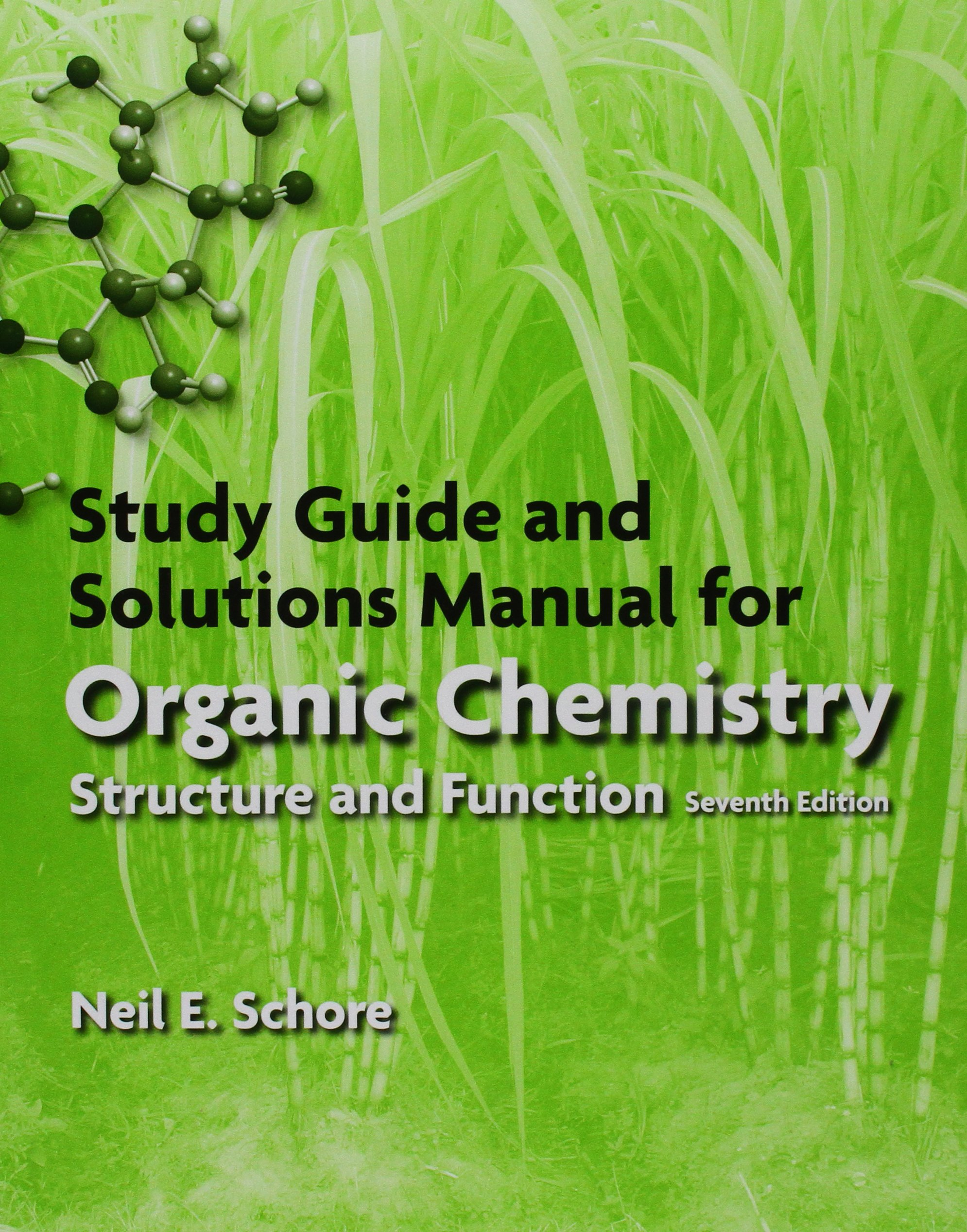Buy Organic Chemistry + Study Guide/Solutions Manual for Organic Chemistry:  Structure and Function Book Online at Low Prices in India | Organic  Chemistry + ...