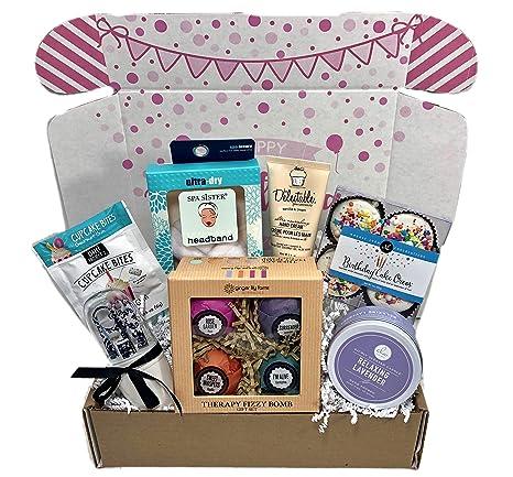 Amazon.com: Bomba de Baño Spa cesta regalo caja para her ...