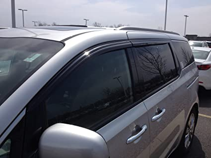 Amazoncom JSP Compatible With KIA Sedona Window Vent Visor Rain - Acura ilx window visors