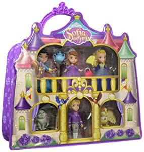 Sofia 93355 The First Castle Carry Case, Purple (Amazon Exclusive)