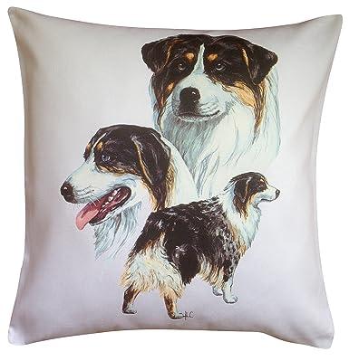 De pastor ovejero australiano Group Breed algodón diseño en ...