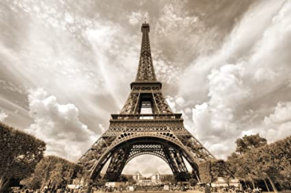 Amazon Com Eiffel Tower Photo Wallpaper Decoration Romance Xxl