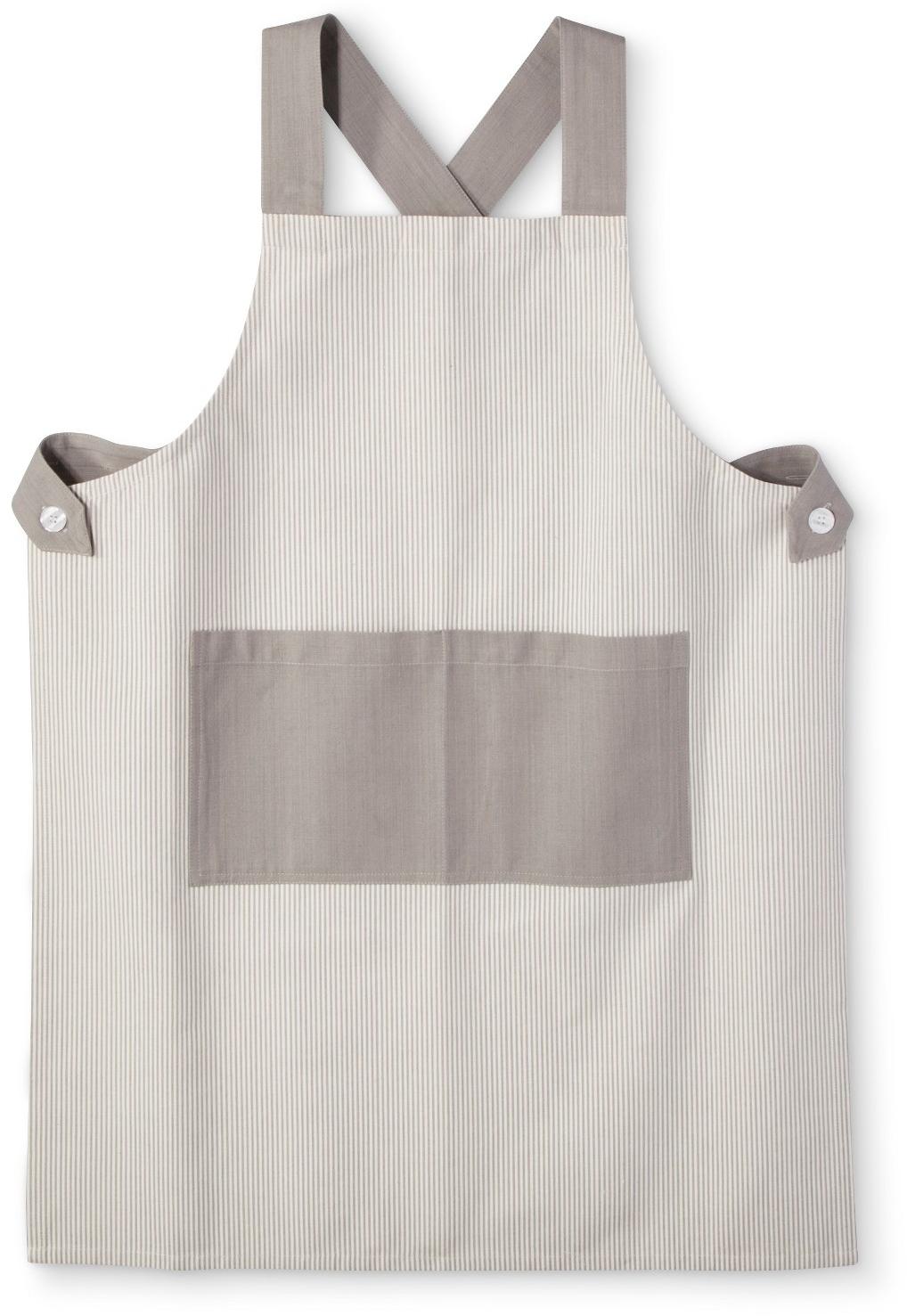 Target white kitchen apron - Gray Stripe Kitchen Textiles Cooking Apron Threshold Target
