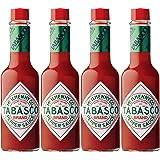 Tabasco Original Flavor Pepper Sauce 2 oz (Pack of 4)