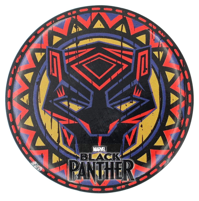 Amazoncom Marvel Black Panther Tribal Pattern Button Magnet