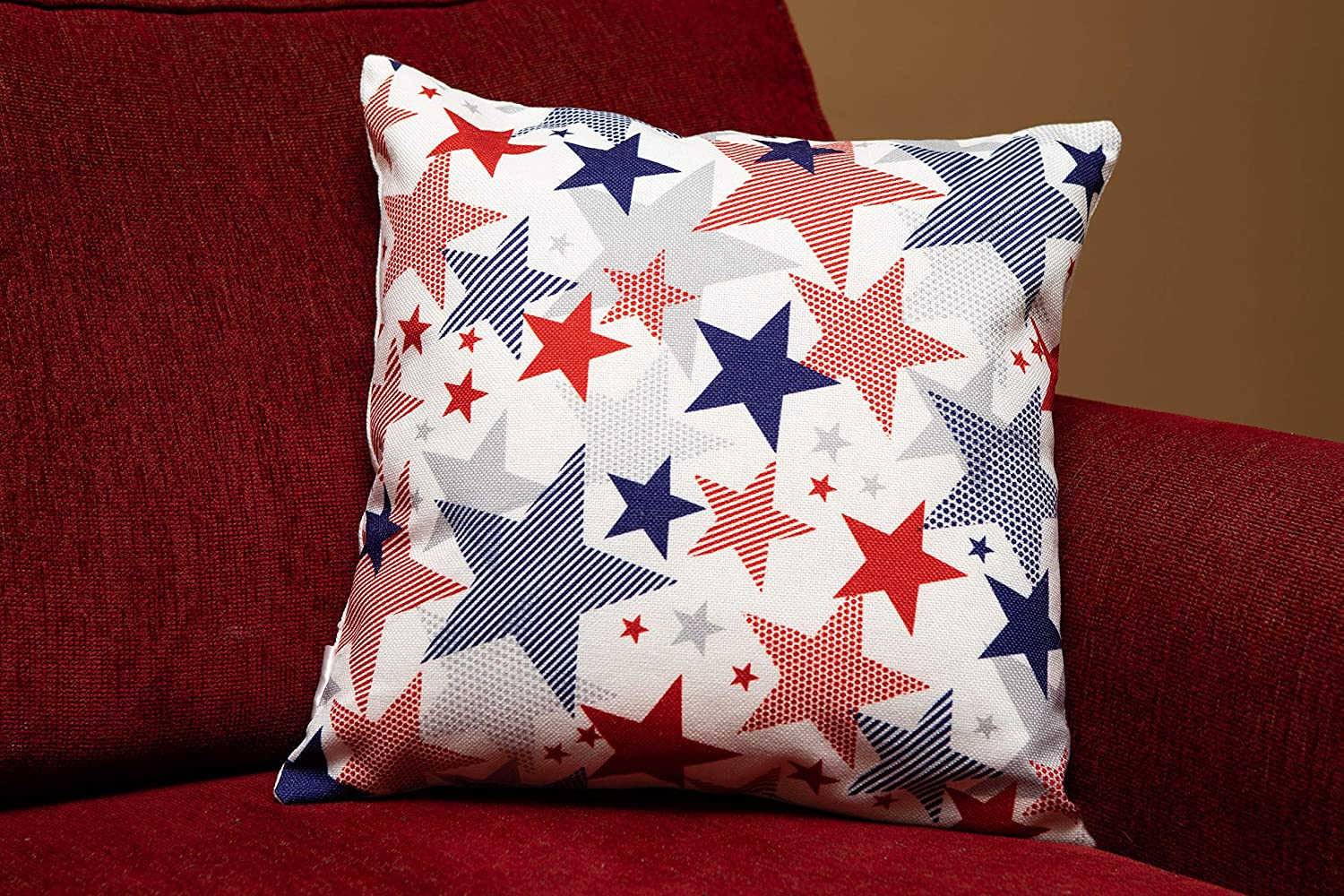Image 2 of Holiday Pillow Covers, Set of 2