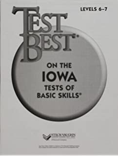Scoring high iowa tests of basic skills itbs book 1 sra test best itbs test workbook grade 1 level 6 7 fandeluxe Image collections