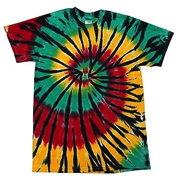 Rasta Tie Dyed T-Shirt