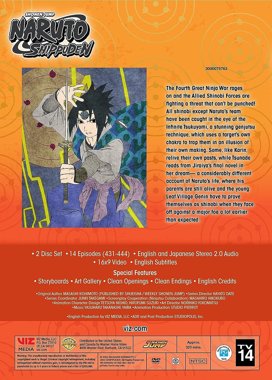 Amazon com: Naruto Shippuden Uncut Set 34: Various: Movies & TV