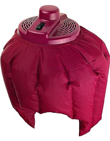 Efbe Schott Casco secador de cabello, 180 W/320 W, Granate, SC