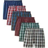 BVD Men's Tartan Boxer (Pack of Six)