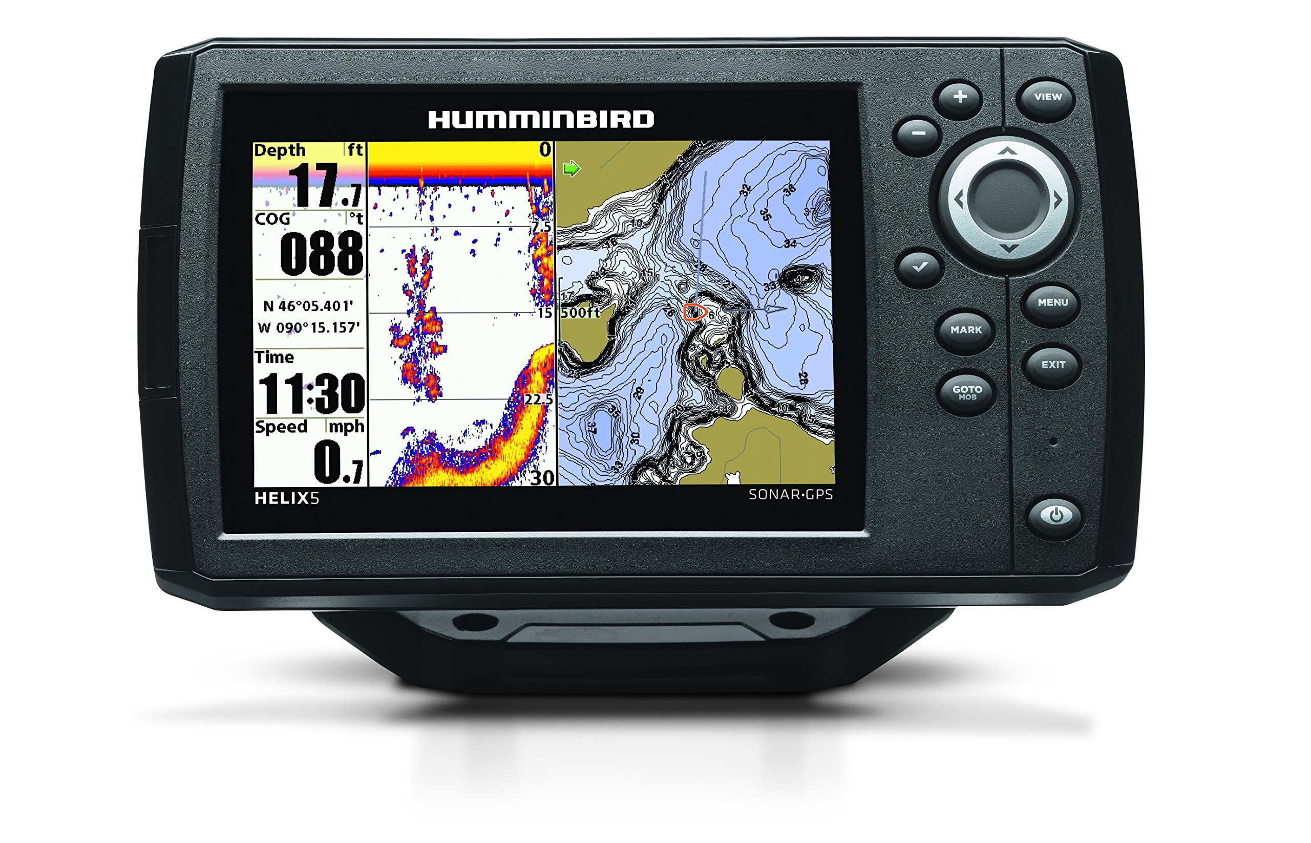 Humminbird 409610-1 Helix 5 Fish Finder with GPS by Humminbird