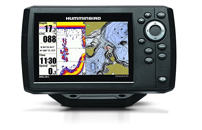 Humminbird 409610-1 Helix 5 Fish Finder with GPS