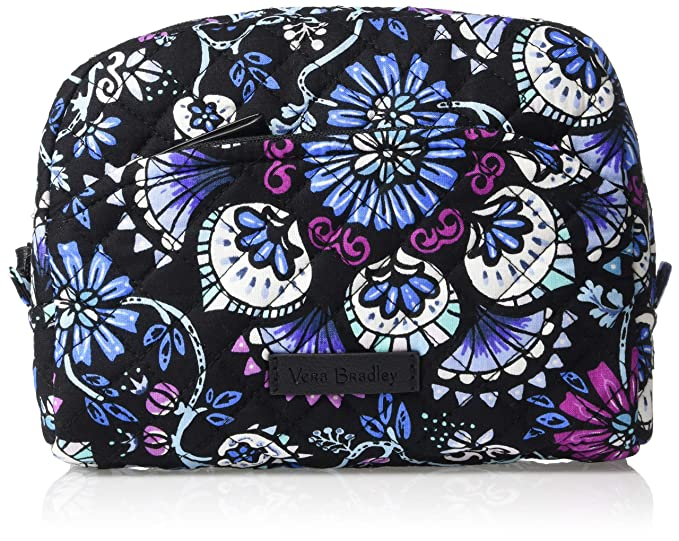Amazon.com  Vera Bradley Iconic Medium Cosmetic b3685c8e7d362