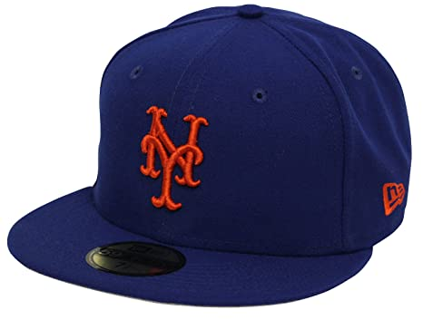 New Era 59Fifty State Clip New York Mets Blue Fitted Cap (7 5 8) at ... d04afcb5483