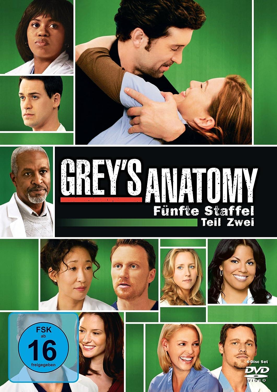 Grey\'s Anatomy: Die jungen Ärzte - Fünfte Staffel, Teil Eins 3 DVDs ...
