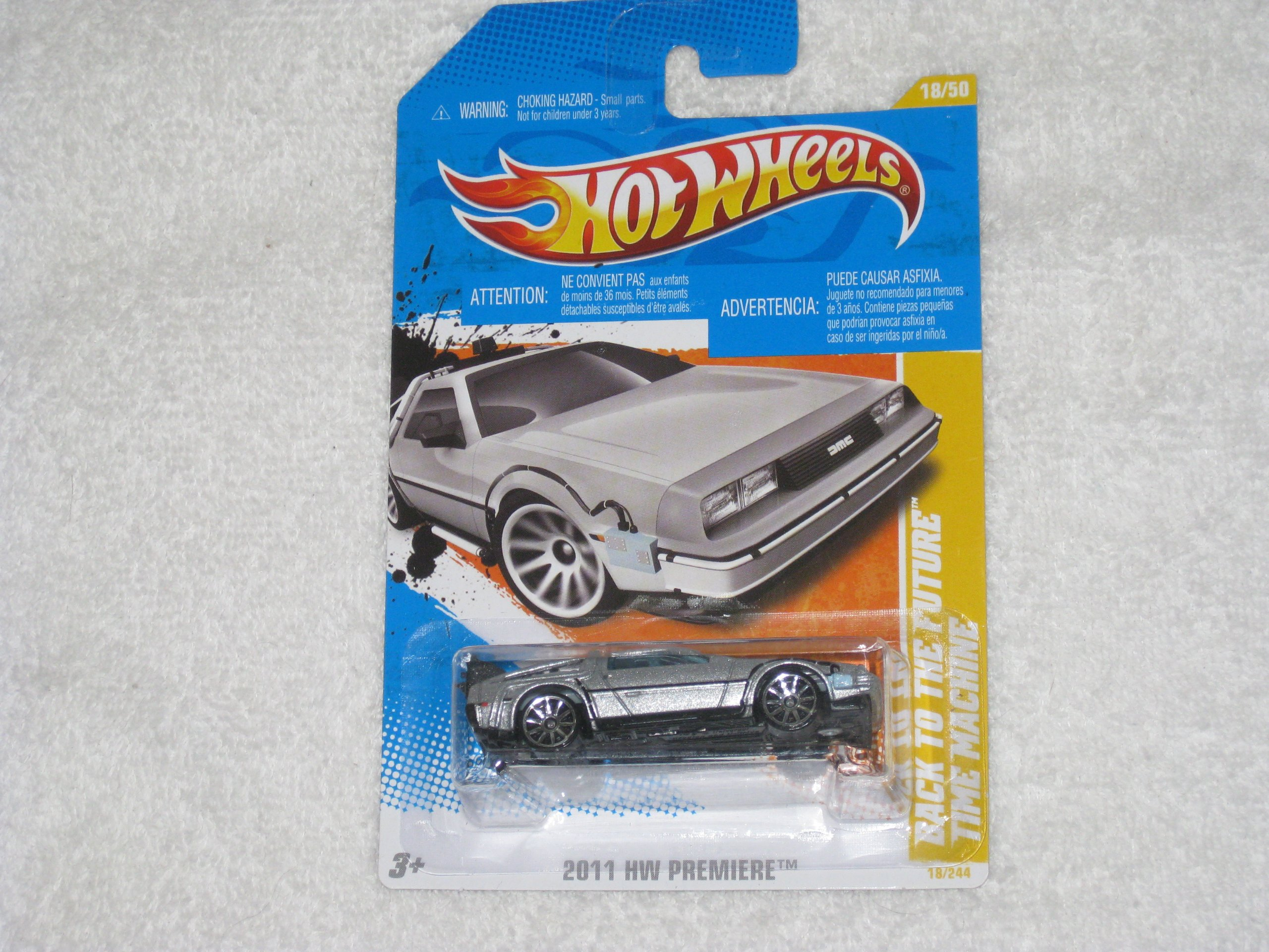 Hot Wheels Back to the Future Time Machine 18/50