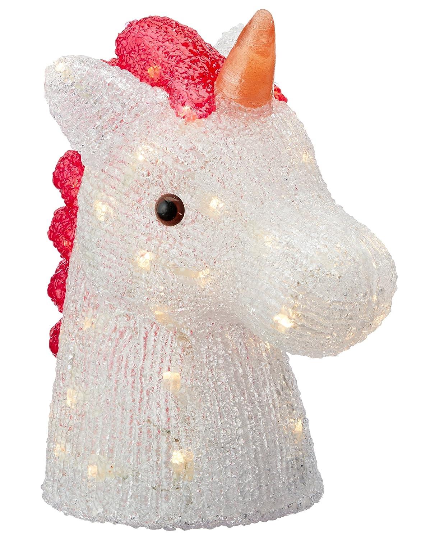 LED KinderlampeEinhorn Stimmungsleuchte Kinderzimmer Lampe Leuchte Pferd indirekte Beleuchtung Nachtischlampe Schlummerlicht Mädchen Kinder Deko Kinderzimmerdeko Time for Home