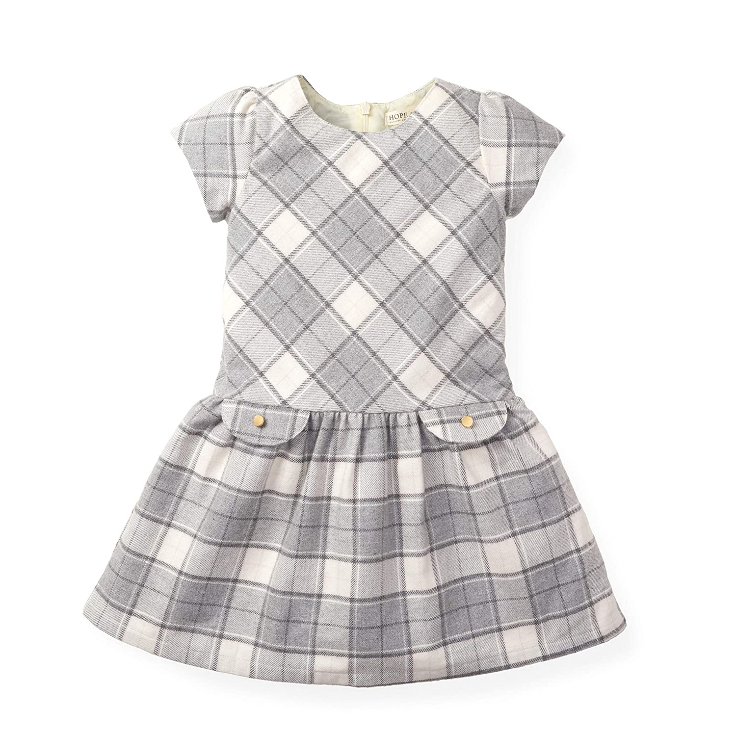Vintage Style Children's Clothing: Girls, Boys, Baby, Toddler Hope & Henry Girls Drop Waist Dress $25.95 AT vintagedancer.com