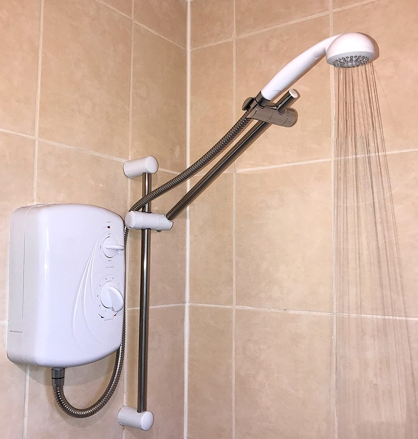 front mixers overhead taps axor en product head shower b by with arm