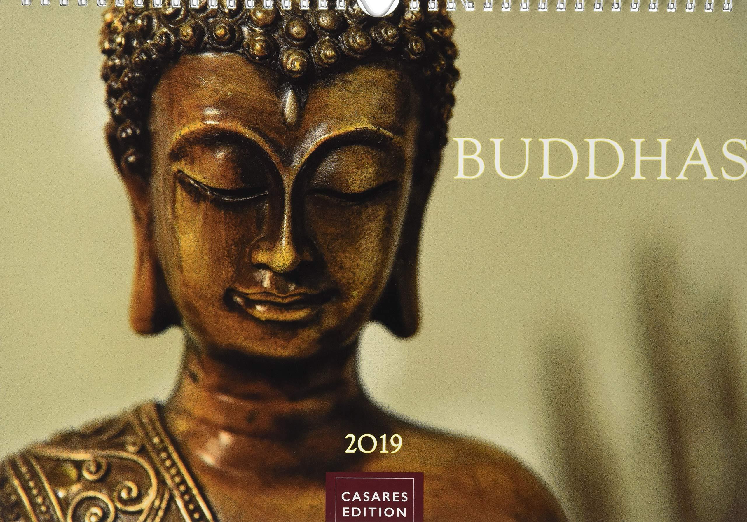 Buddhas 2019 S 35x24cm Kalender – Wandkalender, 1. März 2018 CASARES fine art edition 3956969472 Bildbände / Asien Nichtchristliche Religionen