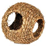 Prevue Hendryx 1095 Nature's Hideaway Grass Ball Toy, Large