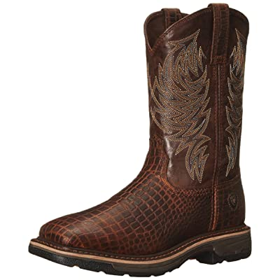 Ariat Men's Workhog Wide Square Toe Work Boot | Western