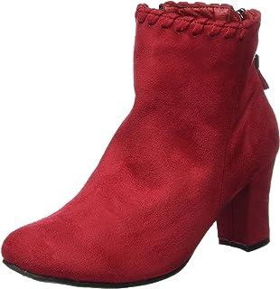 b9b15c7c5e6c 5186 Fashion4Young Elegante Damen Stiefel Stiefelette Ankle Boots ...