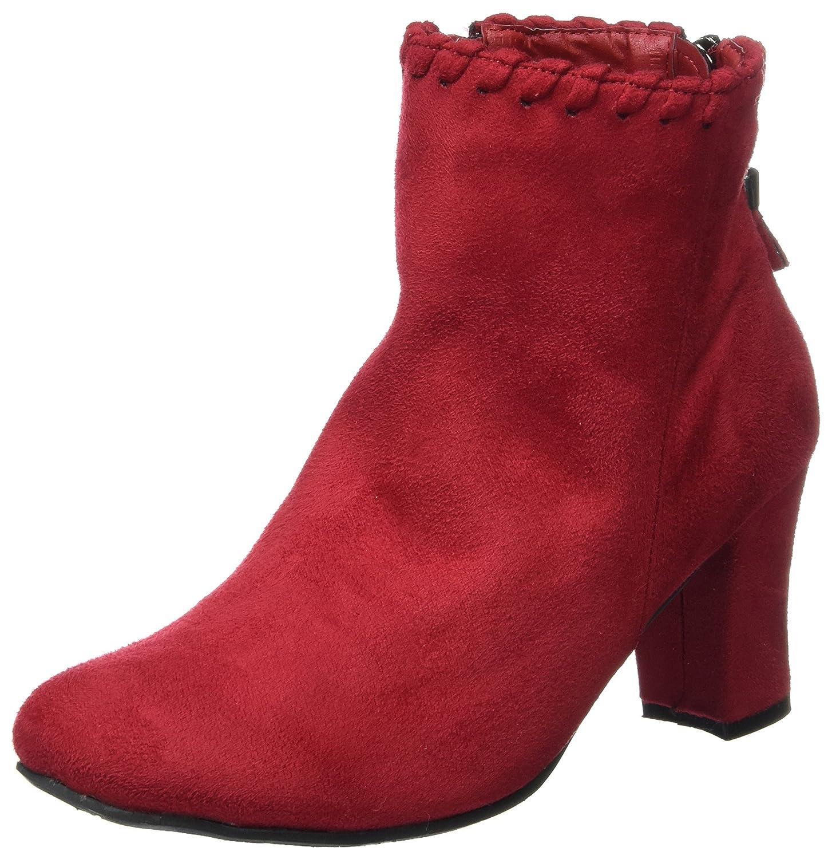 Hirschkogel 3004542, Botas para Mujer Rot (Vino)