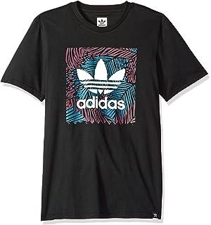5c78d2decfba3 adidas Originals Men's Skateboarding Blackbird Block Tee, Blue red ...