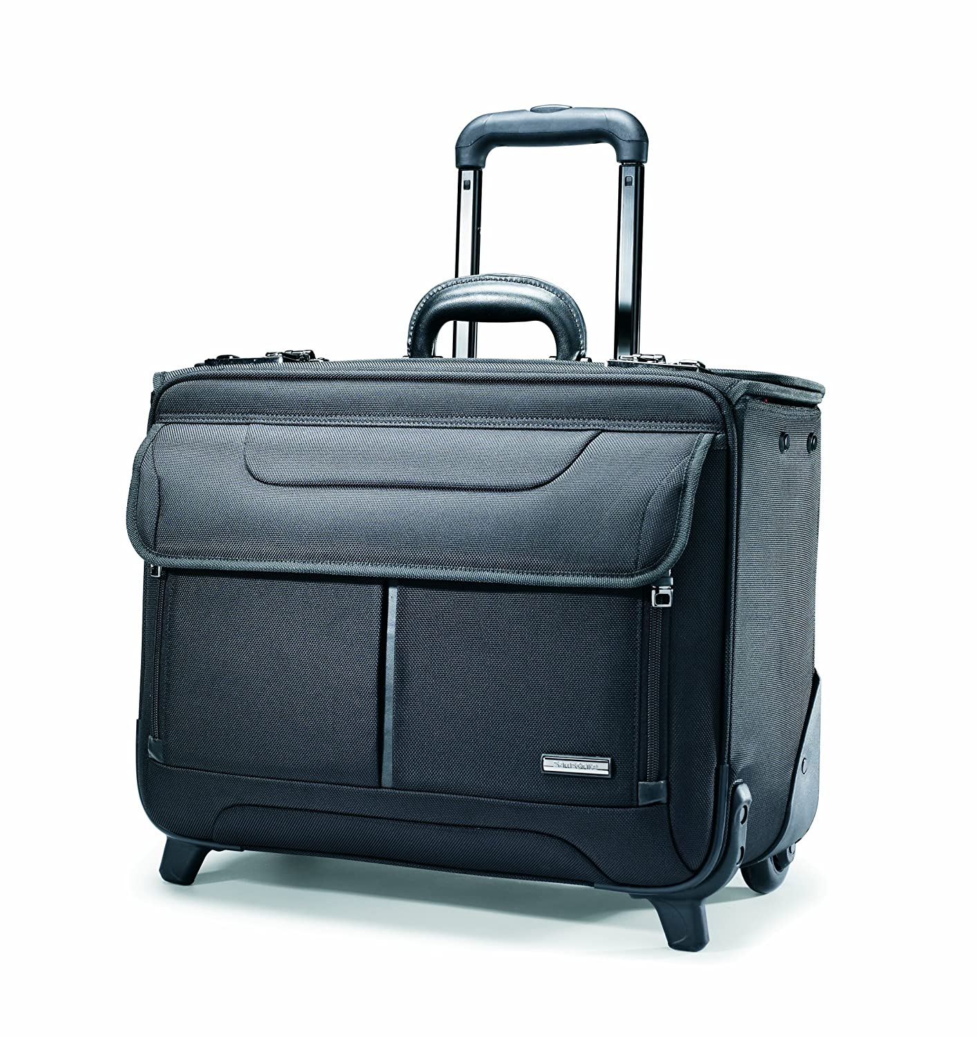 Samsonite Wheeled Catalog Case, 17-1/4 x 7-1/2 x 13 Inches, Black (458311041) Samsonite Corporation
