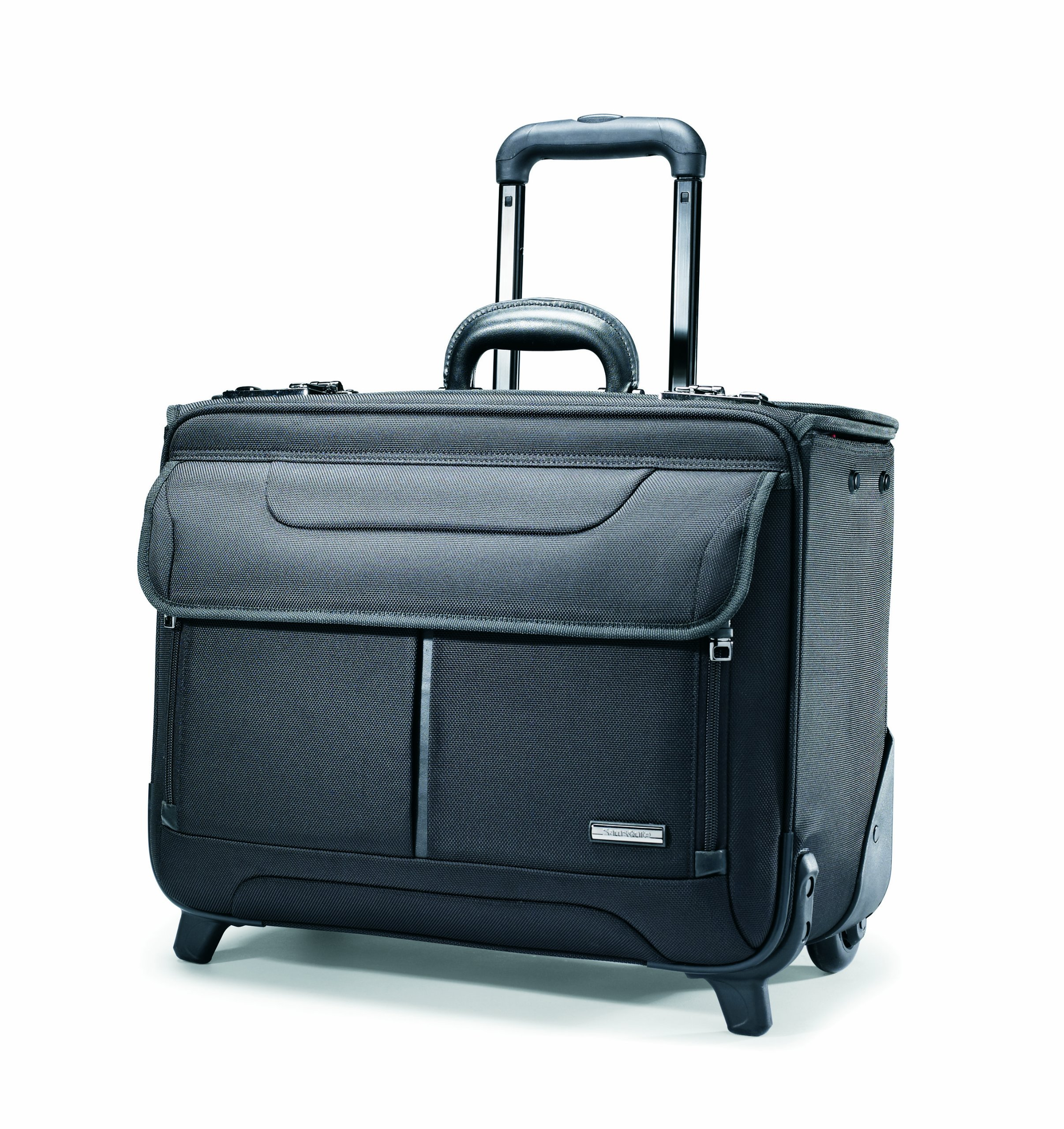 Samsonite Wheeled Catalog Case, 17-1/4 x 7-1/2 x 13 Inches, Black (458311041)