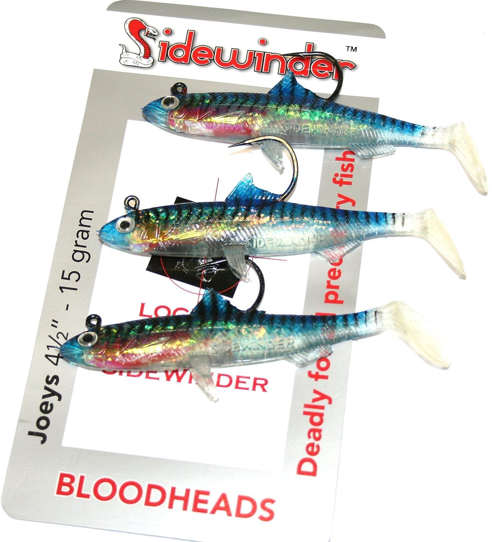 Sidewinder beb/és canguros 10,8 cm 15grm Bloodheads