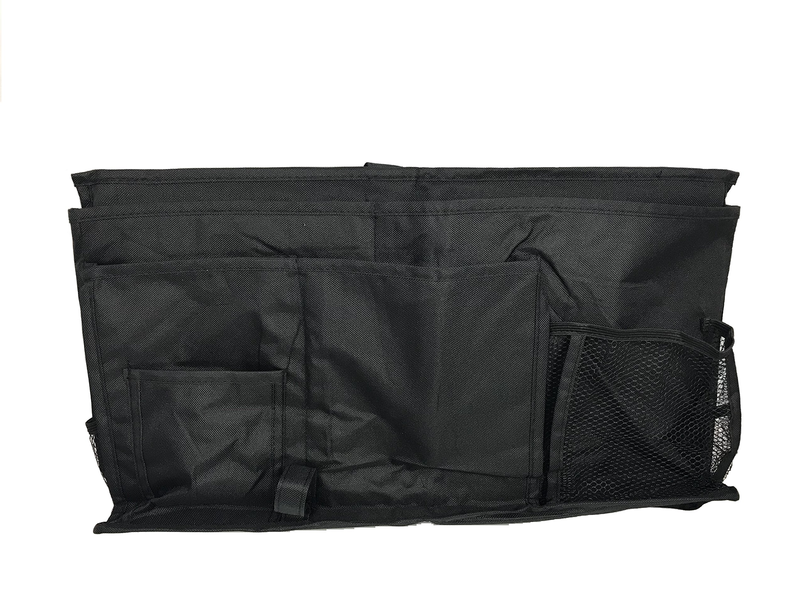 Mesh Hanging Shower Tote Bag Organizer Bundled with Bedside Caddy