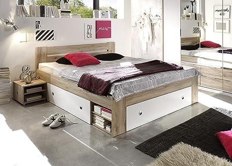 Letto Futon Una Piazza E Mezza : Avanti trendstore letto futon colore quercia san remo bianco
