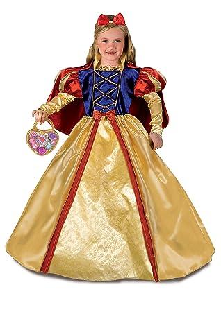 FIORI PAOLO 27136 - Blancanieves Disfraz Niña con bolso y ...