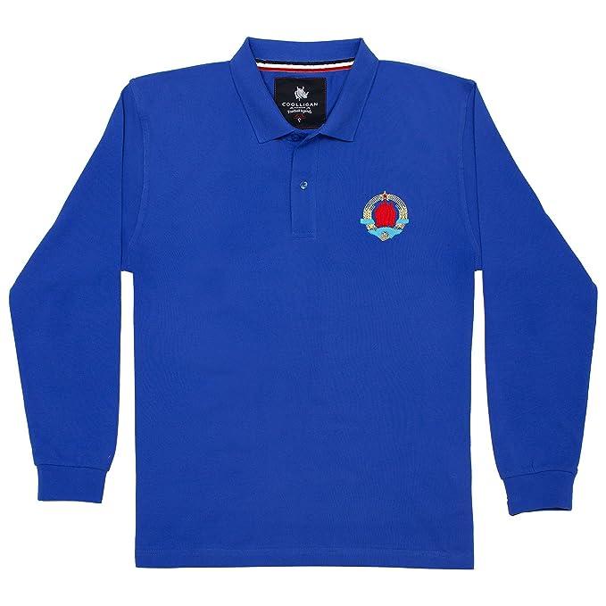 Coolligan - Polo de Fútbol Retro 1948 Yugoslavia - Color - Azul ...