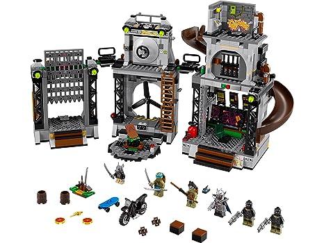 LEGO Tortugas Ninja - Playset con 6 Minifiguras(79117 ...
